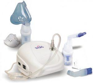 Inhaltor für die Aerosoltherapie mit Zubehör